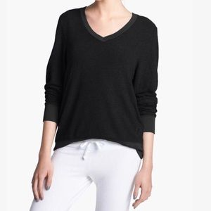Wildfox V-Neck Black Pullover